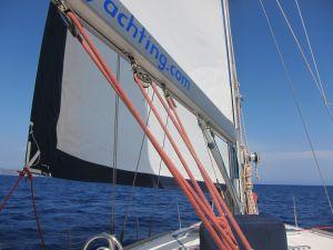 am-segelboot
