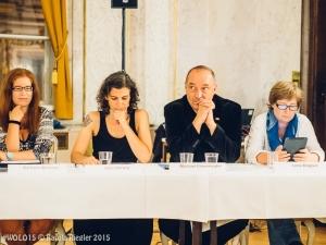 12.09.2015, Altes Rathaus (Barocksaal) Wien. #WOLO15: Award-Gala für ausgezeichneten Kulturpessimismus // Fotocredit: Karola Riegler